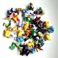 38Pcs New Middle Size 4 6cm Cartoon Pokemoned Figures Toys Pikachued Action Figure Set Lot Pvc Material Birthday Gift PresentY33