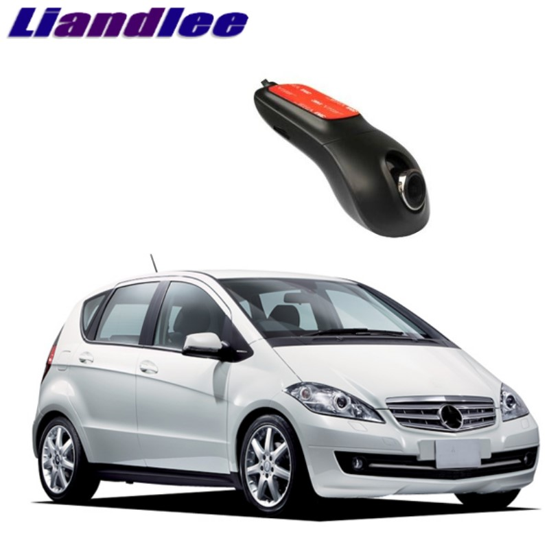 Liandlee For Mercedes Benz A MB W169 2004~2012 Car Black Box WiFi DVR Dash Camera Driving Video Recorder цена