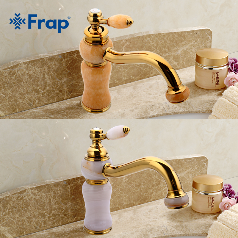 Frap New Design Luxury Copper Hot and Cold Mixer Faucet Gold Special Plating Vac-ion Plating Basin Faucet Y1301D Y1302D pastoralism and agriculture pennar basin india