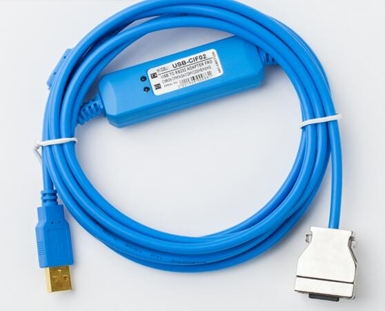 USB-CIF02 PLC Programming Cable  for omron CPM1A/2A/CQM1  Series professional integrity plc programming cable usb fbs seconds