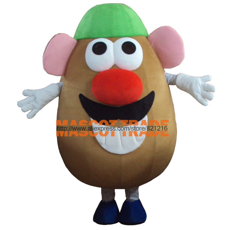 New arrival  Adult Mr. Potato Head Mascot Costume  Adult Fancy Dress Cartoon carnival Outfits