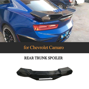 Carbon Fiber Rear Trunk Spoiler Big Customized Wing Fit for Chevrolet Camaro Coupe 2016 2017 2018