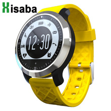 F69 Sport Smart Watch IP68 Swimming Waterproof Pedometer Sedentary Reminder Heart Rate SMS Reminder Smartwatch for ios Android