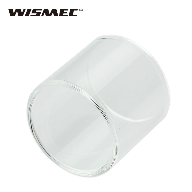 Original WISMEC Reux Mini Tank Tube Pure Pyrex Glass Tube Replacement Glass Tube for Reux Mini Atomizer E-cig accessory Part