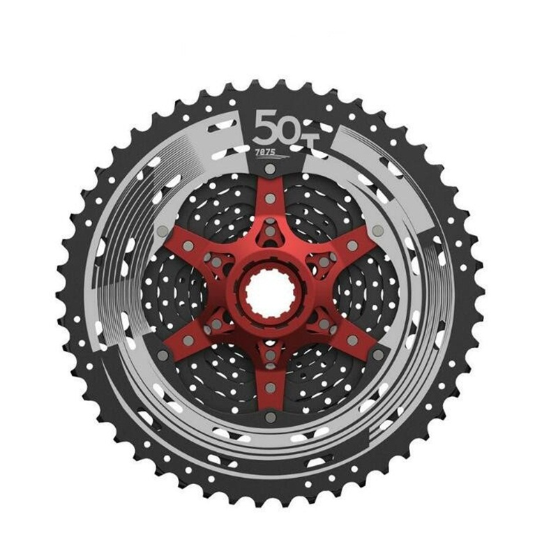 11 Speed Wide Ratio 11-50T MTB Mountain Cycling Freewheels Bicycle Flywheel Bike Cassette Part Fits For SHIMANO SRAM carbon mtb 650b rims stiffer dh bike part 27 5er 35x25mm wide down hill jumping racing ride excellent cycling parts store online