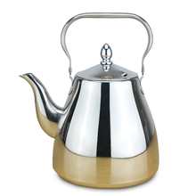 New Arrive 304 Stainless Steel Water Kettle Thicker Induction Cooker Tea Kettle Creative Tea Pot For Home Office 1.2L/1.5L/2L