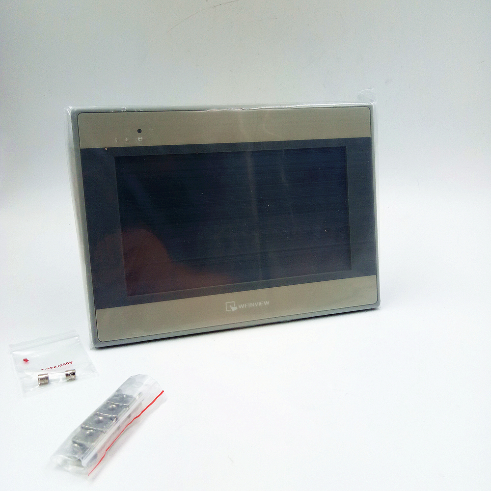 7 inch Touch Panel HMI Display Screen 800*480 USB Host Weinview MT6071iE with Programing Cable&Software