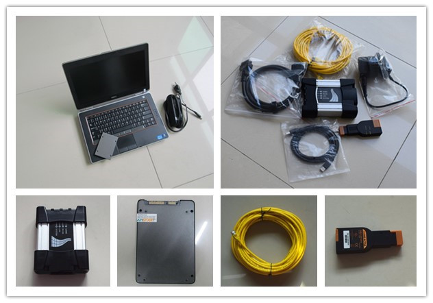 For bmw icom next ssd pro with laptop e6420 i5 4g newest software full set diagnostic tool for bmw ready to use best quality