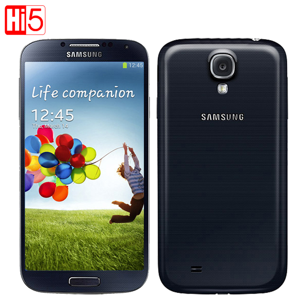 Samsung GALAXY S4 i9500 Original 13MP Camera Quad-Core 2GB RAM 16GB ROM Refurbished mobile WCDMA Free Shipping