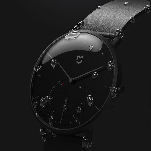 Xiaomi Mijia Quartz Smartwatch 3ATM Water Resistant Pedometer Stainless Steel Case Intelligent Vibration Waterproof Watch Gift
