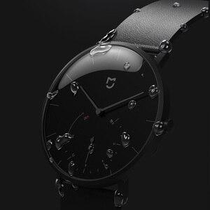 Image 3 - Смарт часы Xiaomi Mijia Quartz, водонепроницаемые умные часы с корпусом из нержавеющей стали, 3ATM, шагомер, умная вибрация