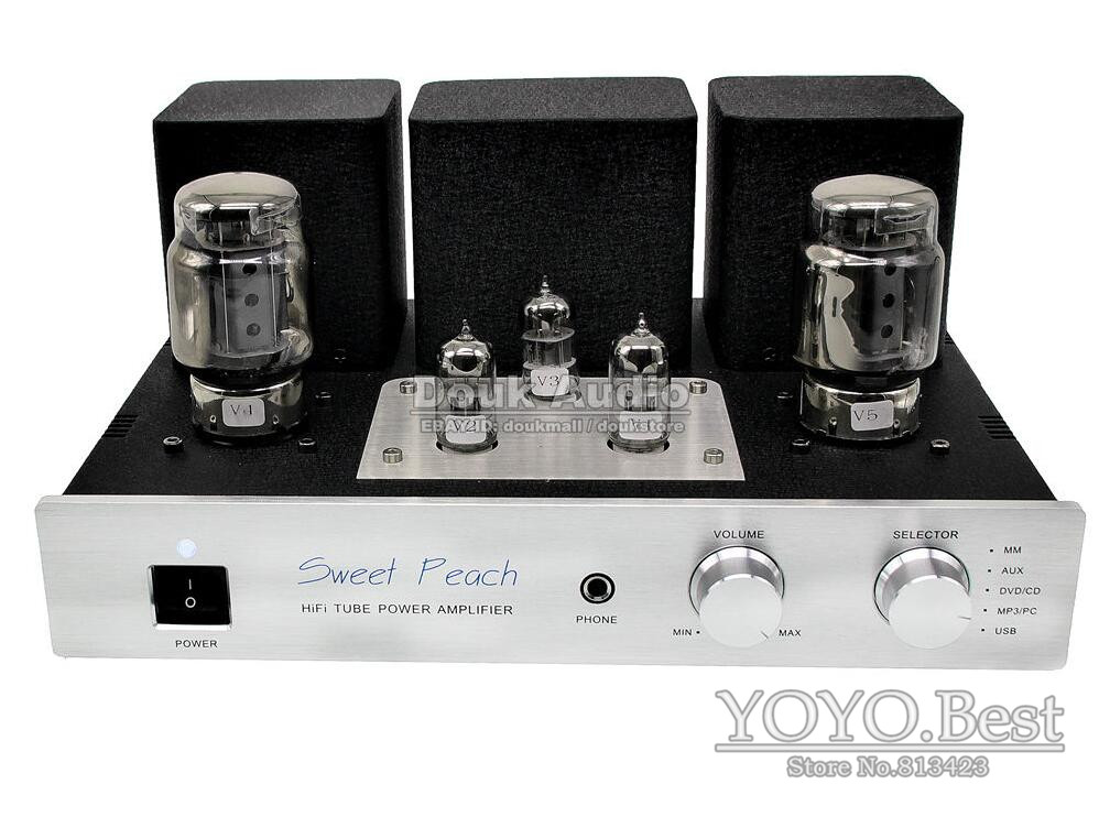 2016 Lastest XiangSheng KT100 Tube Amplifier & Headphone Amp & HiFi USB DAC & MM Phono Preamp 110~240V la figaro headphone amplifier tube amplifier 2013 upgrade version