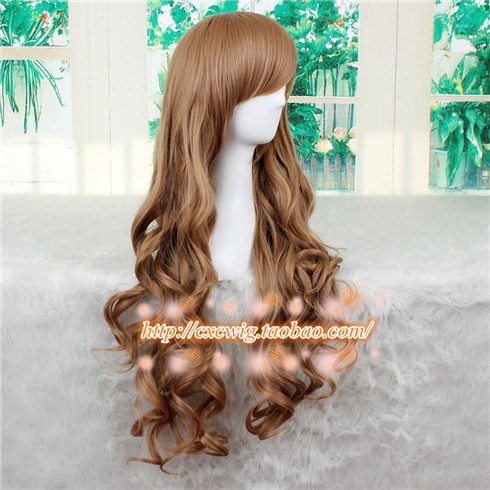 Aisaka Taiga Synthetic Hair Cosplay Wig Toradora! TIGER X DRAGON Cosplay Wavy Synthetic Hair Halloween For Women