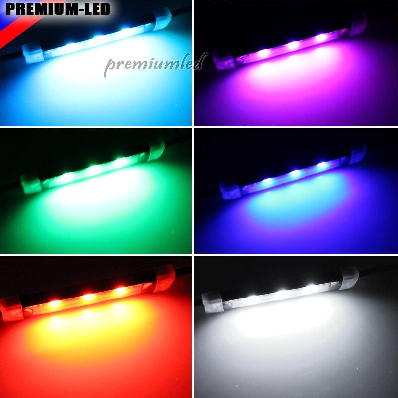 Universal Fit 42 LED RGB Multi color LED Motorruimte of Onder Auto ...