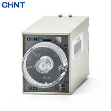 CHINT Time Relay JSZ3 12v 24v 36v Timing Relay Electricity Time Delay 380v 220v twb nd anv original authentic taiwan research disabilities twbnd motor is reversing the time reversal relay 220v