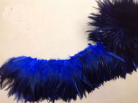 EMS Free Shipping 1KG Rooster Hackle Feather Strung 12 15cm 5 6 rooster feather Trimming Rolls DIY accessory/costume Deco