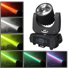 Hohe qualität leistungsstarke LED moving head strahl 60 Watt RGBWAUV 6 farbe 60 watt strahl moving heads dmx dj beleuchtung