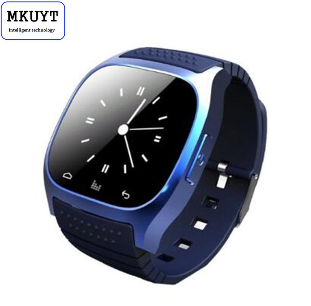 MKUYT M26 Wearable Smartwatch Smart Bluetooth Watch Touch Screen LED Light Display Watch with Dial Call Answer Music Player