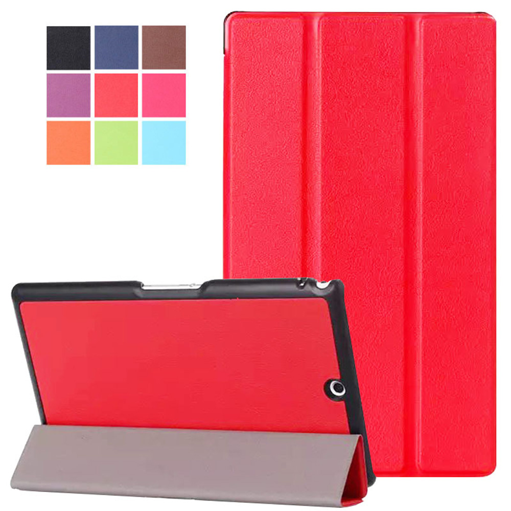 Slim Snug smart Case cover for Sony Xperia Z3 Tablet Compact Ultra Slim Stand Cover for
