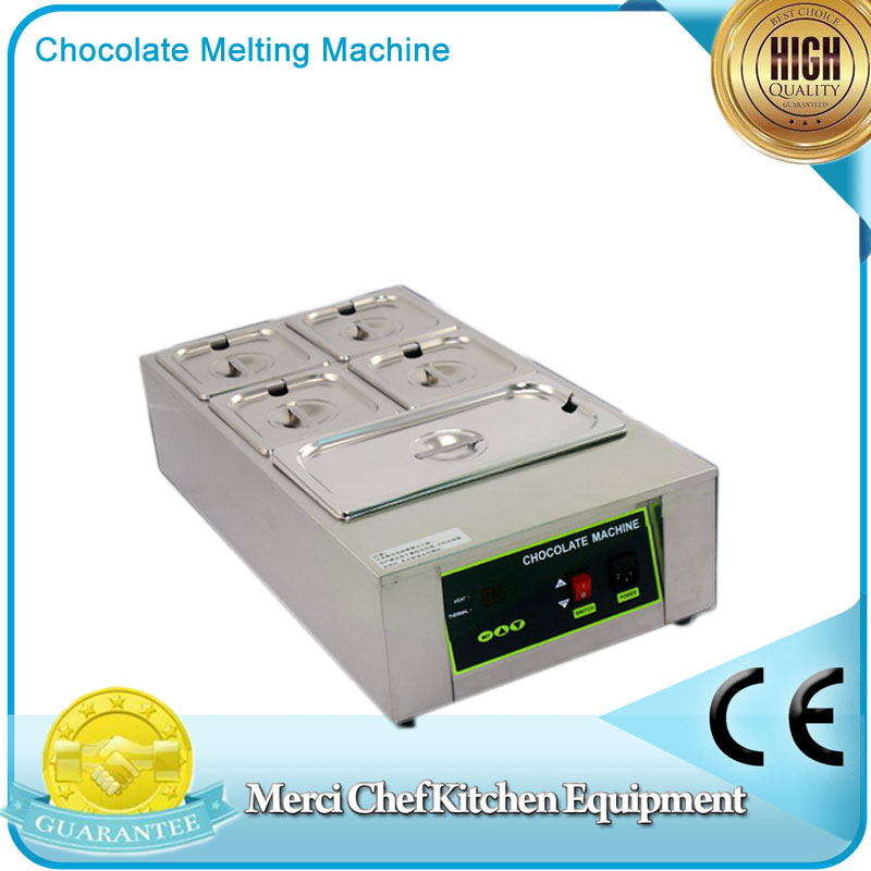 Digital Chocolate Melting Machine Stainless Steel Chocolate Machine 230V Commercial Size fast shipping food machine 6 layers chocolate fountains commercial chocolate waterfall machine with full stainless steel