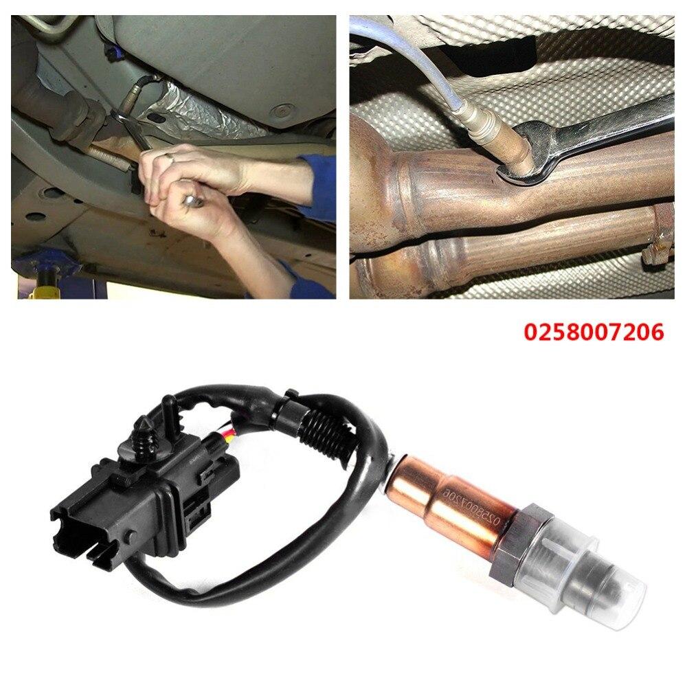 LSU4.2 Wideband O2 UEGO Sensor fits PLX AEM 30-2001 0258007206 Square Plug