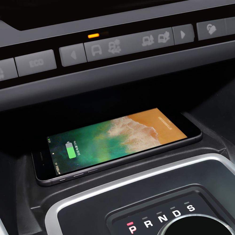 Auto Qi Wireless Phone Lade Pad Modul Für Land Rover Discovery Sport 2015-2019 Schnelle Lade Fall Platte Zentrale konsole St