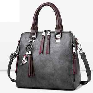 Image 3 - Sac à main en cuir PU pour femmes, sac de luxe à épaule de marque célèbre, sacoche à bandoulière de grande capacité, fourre tout décontracté LB753