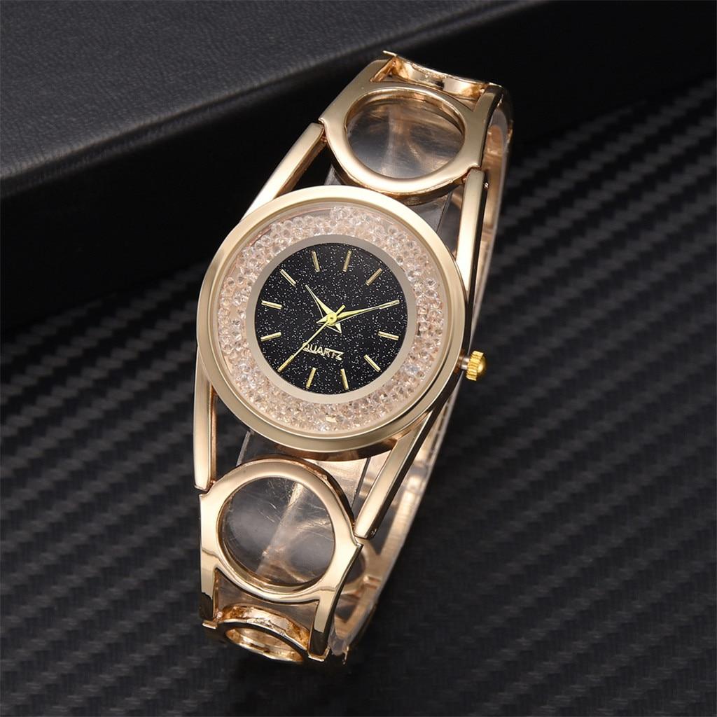 women watches Luxury Stainless Steel Watch Diamond Women Gift Quartz Wristwatch Fashion Ladies Watches Female Dress Watch 2019