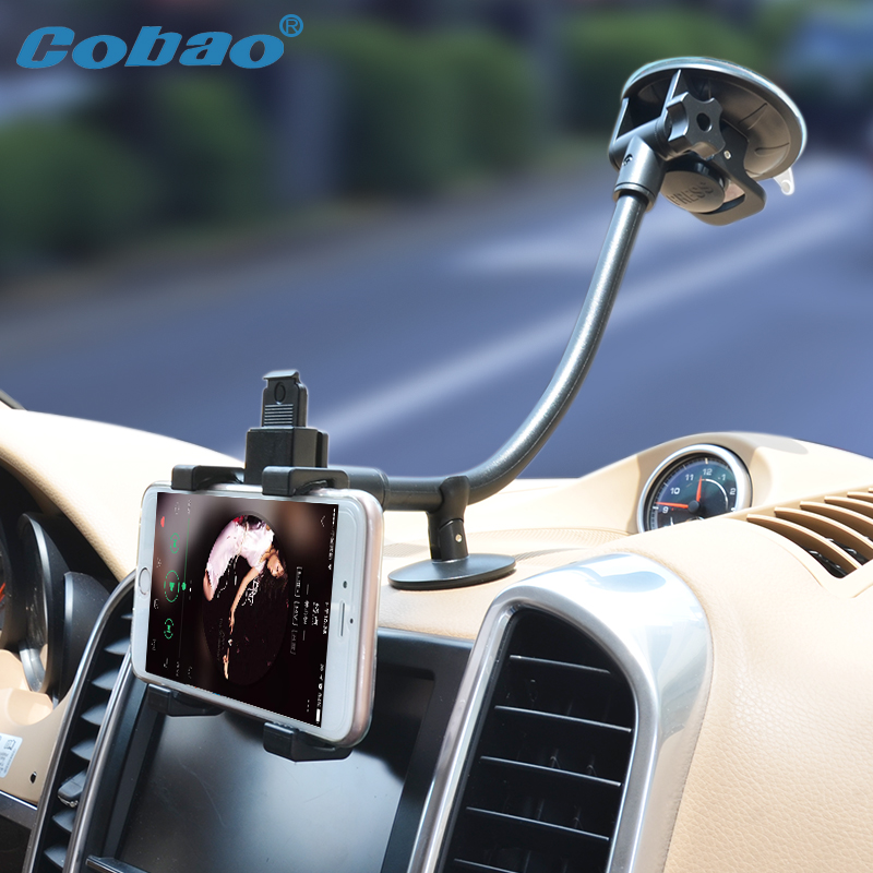 360 Degree Rotating Long Arm Mobile Phone Holder Stand Universal 30 cm Cell Phone Holder for iPhone 7 6 5s Plus Samsung Note 7