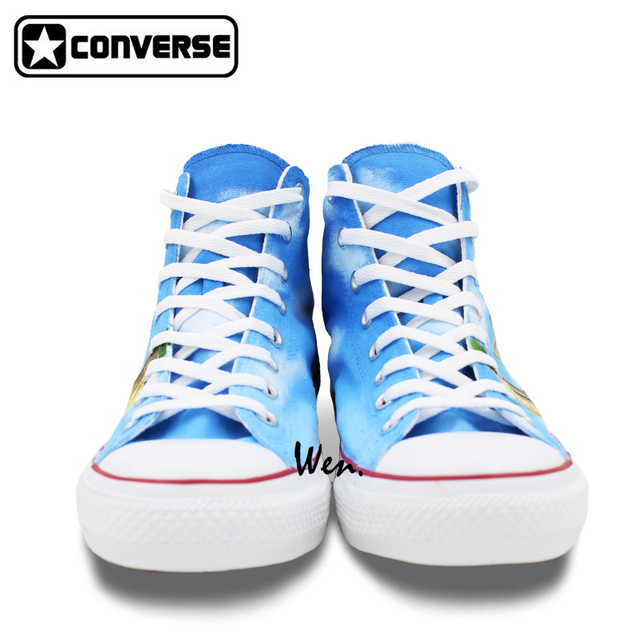 Super Saiyan Son Goku Custom Design Shoes  Converse All Star