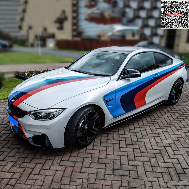 Tailor made car decoration stickers car spray paint vinyl stickers body 3 color decal