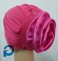 Исламский хиджаб крышка повязка на голову обернуть капот внутренний цветком вернуться закрыть 8 цветов 12 шт./лот бесплатная доставка