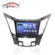 Bway 9 «2 DIN автомагнитолы для Hyundai Sonata 8th четырехъядерный Android 6.0.1 dvd-gps-навигация с 1 г Оперативная память, 16 г INAND
