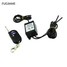 12V Wireless Remote Control Module w/ Strobe Flash For Car LED Bulbs, Strips