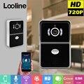 Wi-fi vídeo porteiro campainha do interfone com 720 p câmera ip sem fio da porta telefone campainha da porta interfone visiophone motion detection