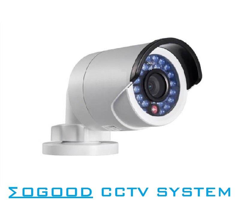 Hikvision English Version DS-2CD2025FWD-I 2MP Outdoor IP Camera H.265 Support Upgrade EZVIZ P2P PoE  IR 30M  IP66 Waterproof цена 2017