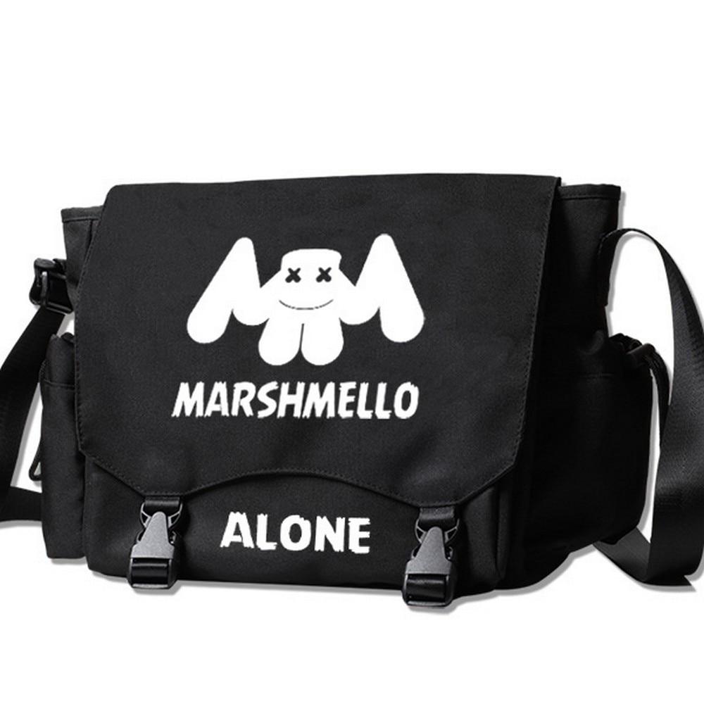 все цены на MeanCat DJ Collection Marshmello Messenger Bag Fade Alan Walker Spinnin' Records Satchel Avicii Skrillex Martin Garrix Sling Bag