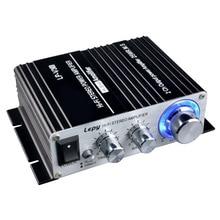 50 Вт 12 в цифровой мини Hi-Fi стерео усилитель мощности автомобиля MP3 автомобильный аудио динамик с 3,5 мм аудио вход 3,5 мм MP3 Разъем