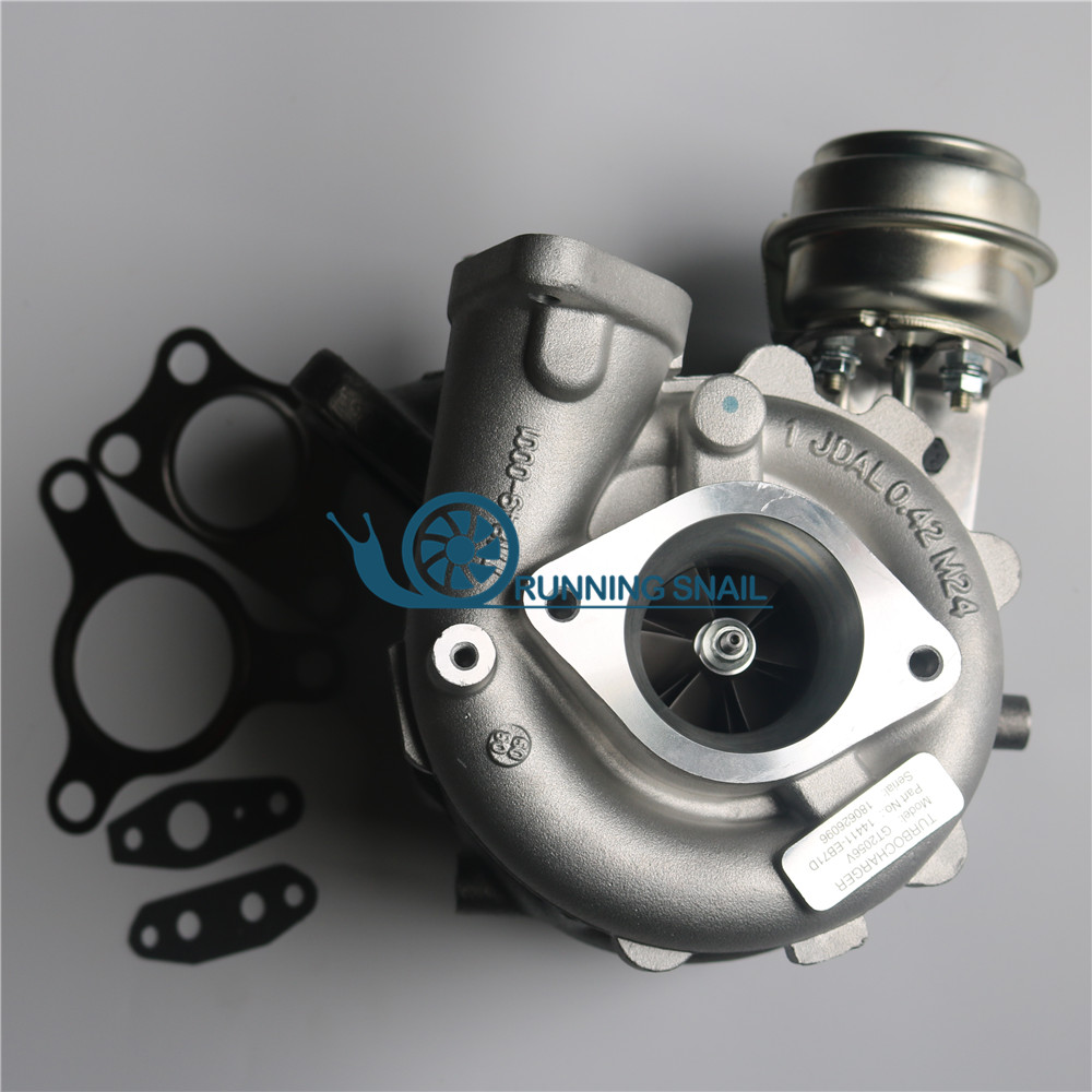 <font><b>GT2056V</b></font> 767720 Turbocharger for 2.5 DI YD25 Pathfinder 2.5L 14411-eb70c 14411EB71C 767720-5005s image