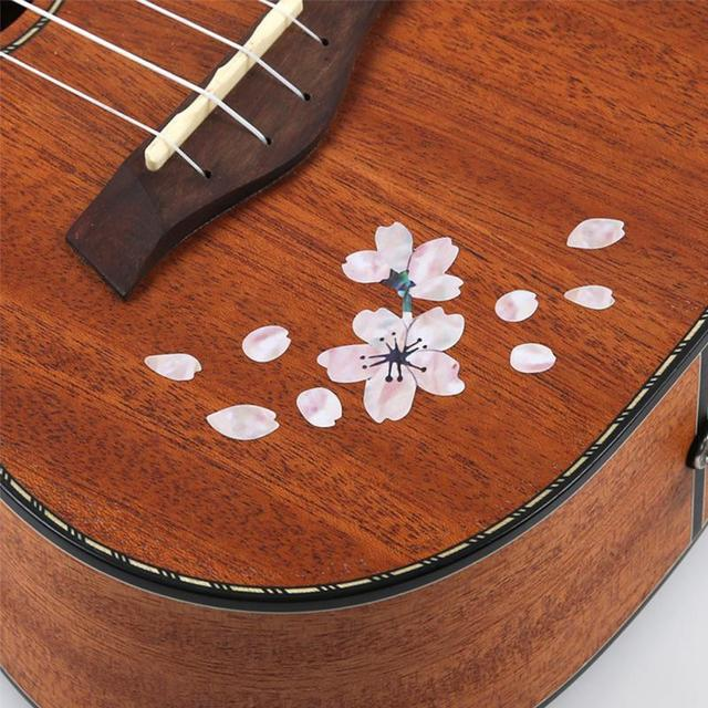 Guitar Decoration Cherry Blossom Removable Stickers
