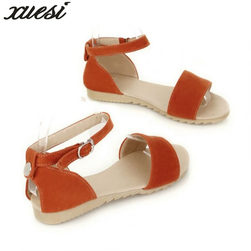 Sandalias Femmes Dames 2018 Chaussures Schoenen Noir D'été vert Zapatos De Plate orange rouge Sandales Para Femme Plataforma forme Verano Mujer xF8nfRxqw