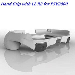 Image 2 - Uchwyt ręczny Joypad stojak na telefon ochraniacz na drążek skrzyni biegów z L2 R2 przycisk wyzwalacza dla PSV 2000 PSV2000 ps vita 2000 Slim gry Conso