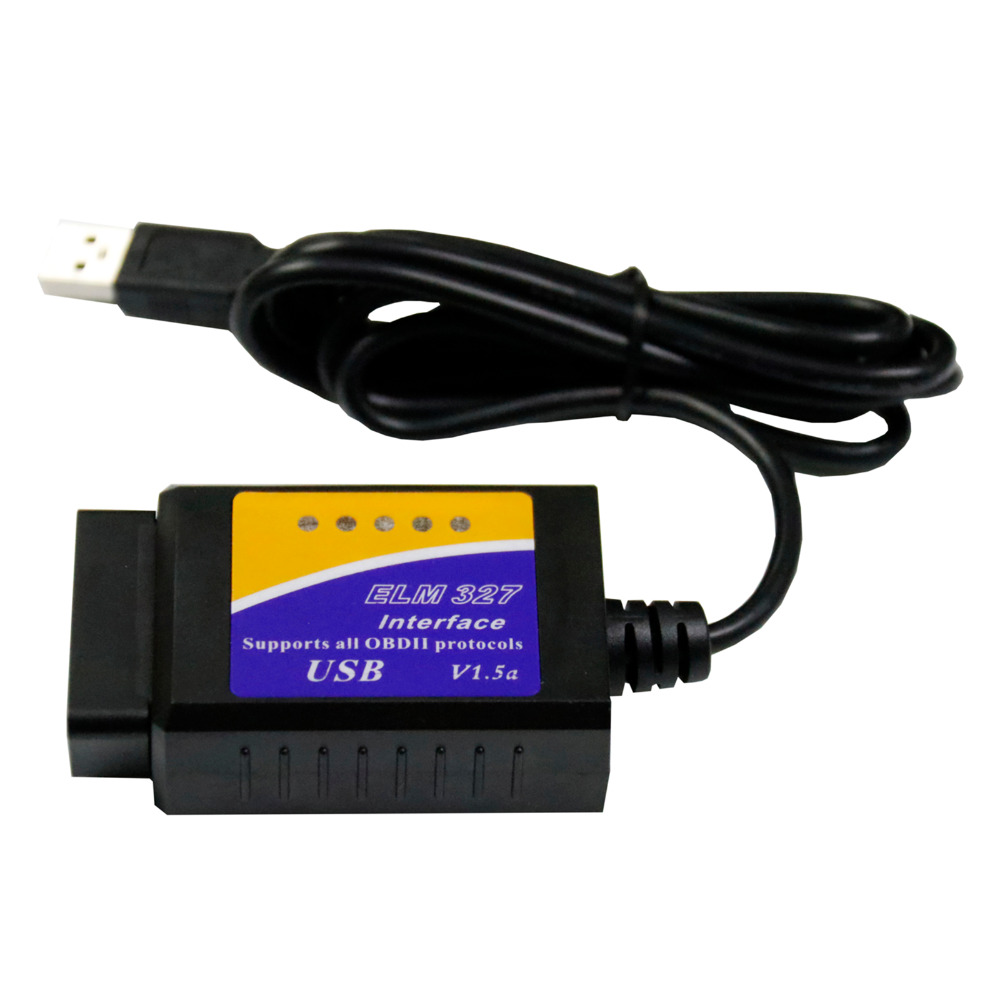 ELM327 V1.5 USB V04HU elm 327 v1.5 Car Styling Fault Code Reader Interface OBD2 OBDII Scan Tool Diagnostic Scanner Interface