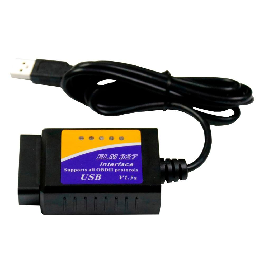 ELM327 V1.5 USB V04HU ulme 327 v1.5 Auto Styling Fehler Code Reader Interface OBD2 OBDII Scan Tool Diagnose Scanner Interface