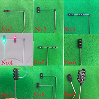 10pcs 5pcs HO scale Traffic Lights Technology Production Invention Signals Traffic Lights DIY Science Model Toys