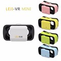 LEJI New MINI VR box 3D glasses VR Head set virtual reality helmet for iphone and android(4.7inch-6inch)