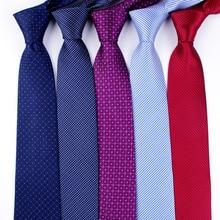 Классический мужской деловой формальный свадебный галстук 8 см в полоску, модный галстук-рубашка, аксессуары для одежды