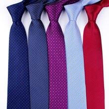 رجال الأعمال الكلاسيكية الزفاف الرسمي التعادل 8 سنتيمتر رابطة عنق شريط قميص الموضة الملابس والاكسسوارات