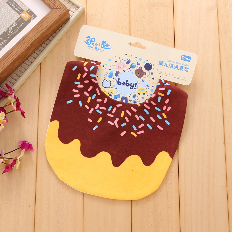 1pcs Baby Bibs Bandana 100 cotton waterproof High Quality Babadores burp saliva towel cartoon Boys Girls accessories clothing in Bibs Burp Cloths from Mother Kids