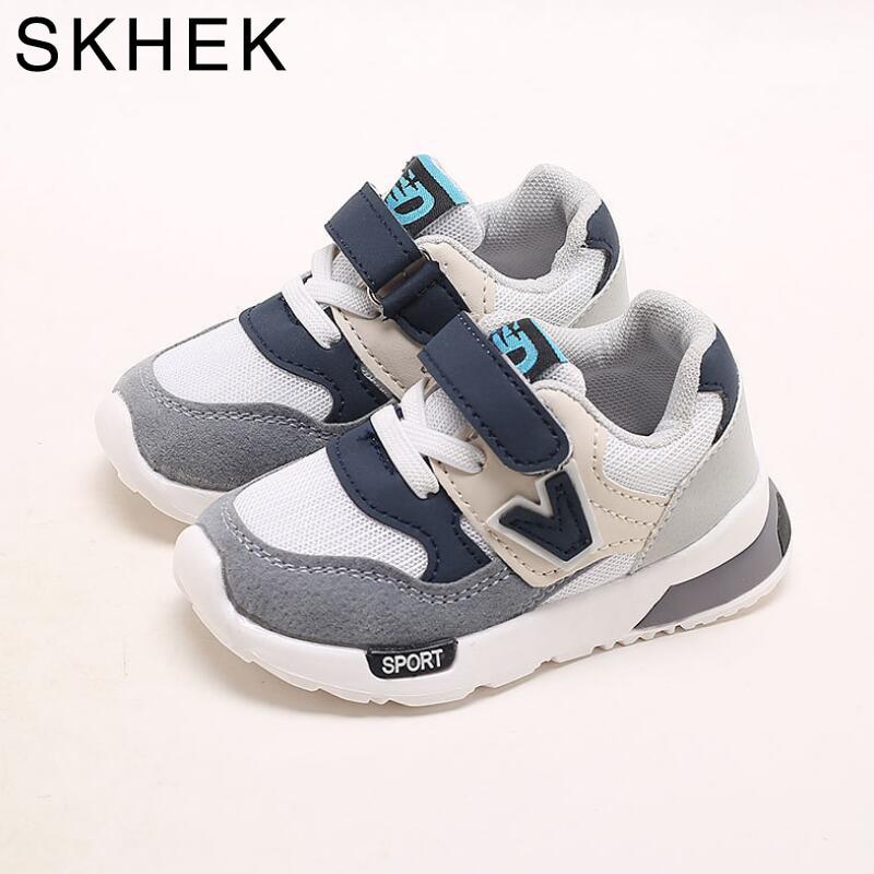 SKHEK enfants chaussures automne nouveau respirant rose loisirs sport course Sneaker pour filles blanc chaussures pour garçons marque enfants chaussure